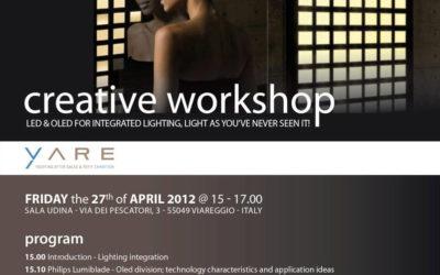 CREATIVE WORKSHOP – LED & OLED